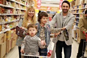 online shopping, family