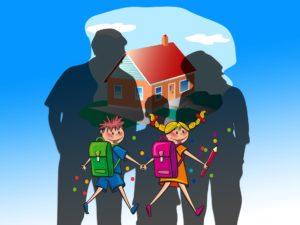 school volunteer, volunteer, family,