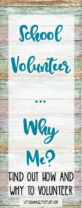 school volunteer, volunteering, parent volunteer, volunteer