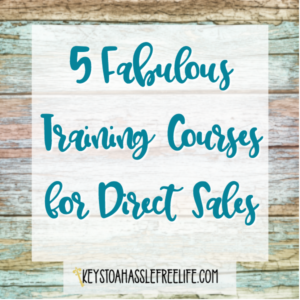 5 Fabulous Training Courses for Direct Sales