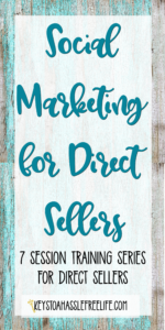 direct sales, social marketing