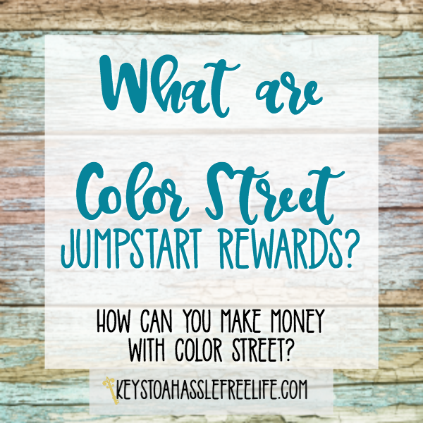 What are Color Street Jumpstart Rewards?