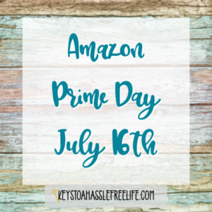 Amazon Prime Day July 16th