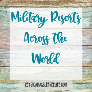 Military Resorts Across the World