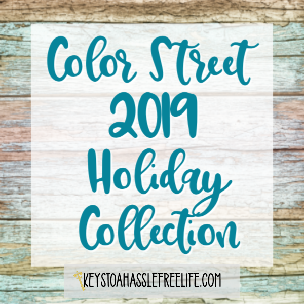 Color Street 2019 Holiday Collection